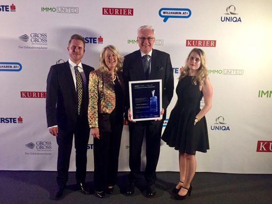 Reischel Immobilien gewinnt zum 3. Mal den Qualitätspreis IMMY