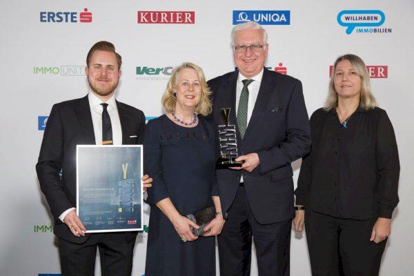 Reischel Immobilien gewinnt den GOLD-IMMY 2018