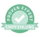 Top-Kundenbewertungen bei Proven Expert