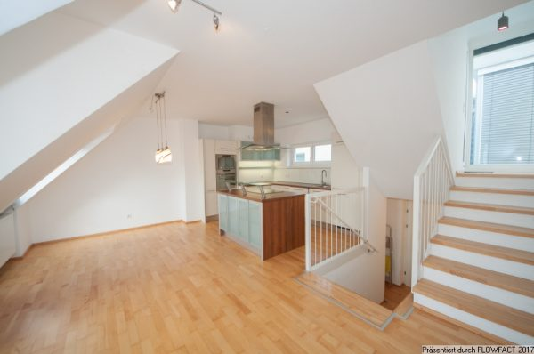 Atzgersdorf – Tolle Maisonette mit Dachterrasse und Rundum-Blick