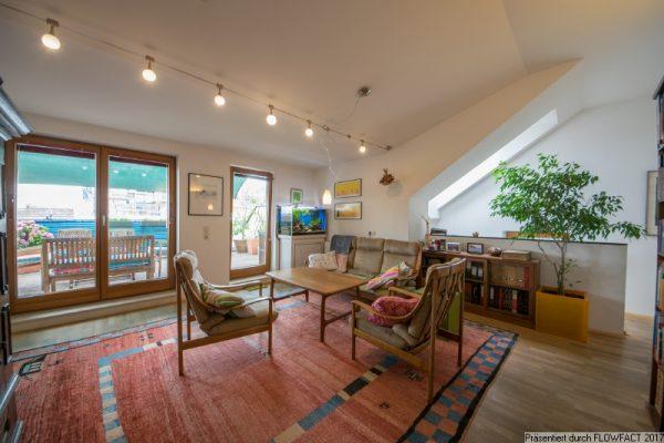Nahe Augarten – Schöne Maisonette mit großer Terrasse