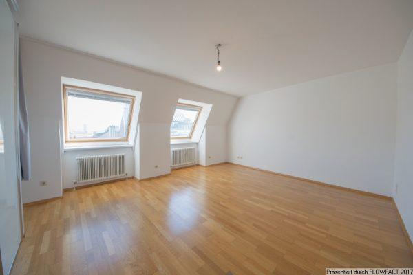 Helle Dachgeschosswohnung nahe University of Vienna