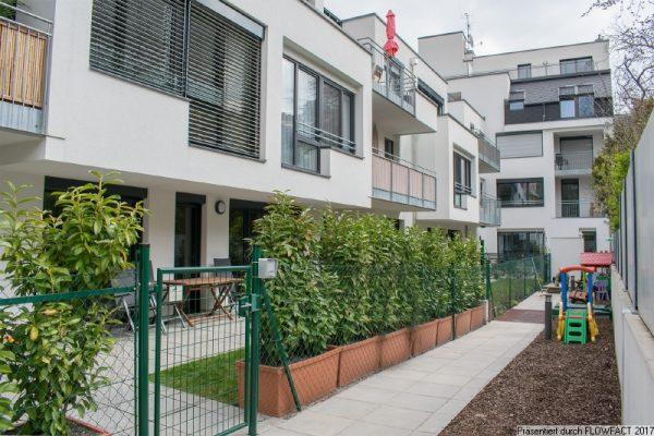 Gartenwohnung Baujahr 2016 beim Liesinger Platz