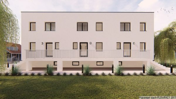 Himberg – Neubau von 3 Reihenhäusern