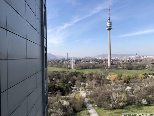 Mischek Tower – Riesenterrasse mit Fernblick