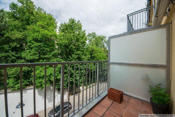 Beim Schönbrunner Schlosspark – sanierte Wohnung mit  West-Balkon