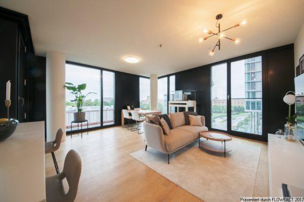 Luxuriös ausgestattete Wohnung – provisionsfrei und unbefristet
