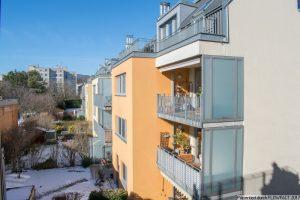 Brunn – Modern mit sonniger West-Loggia