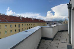Genossenschaftswohnung mit 18m2 Terrasse