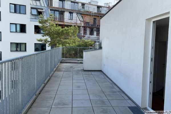 Maisonette mit 50m² Terrasse – unbefristet